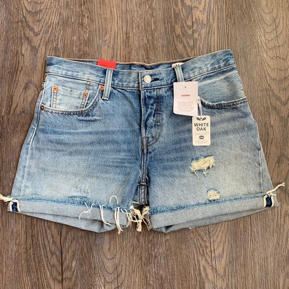 5c3c829a Levi's Shorts | Levis 501ct Denim Selvedge Size 27 Nwt | Poshmark